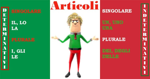 Learn Italian articles