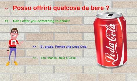 Learn italian at the bar