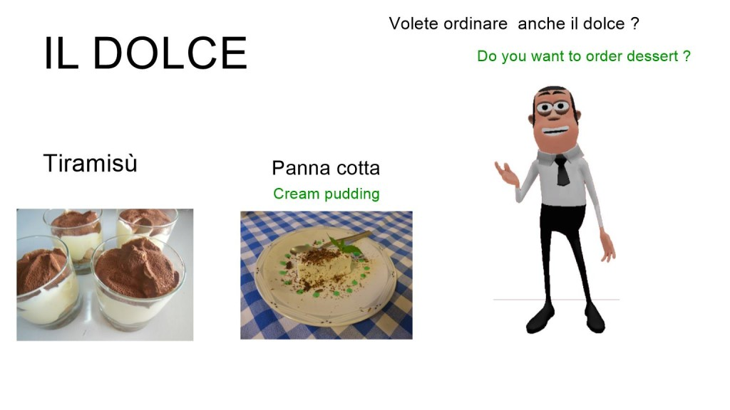 How to order food in Italy