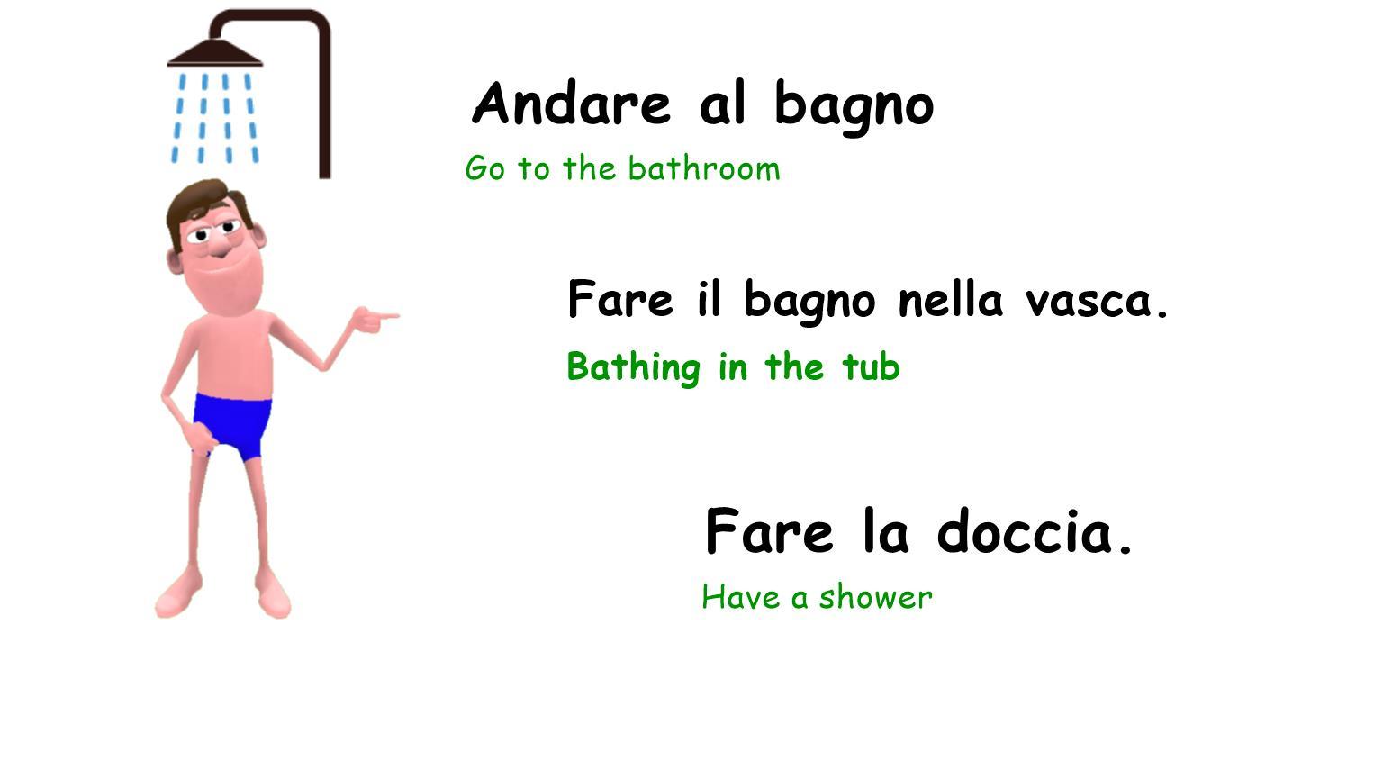 Come Farsi La Doccia.Daily Routine How To Describe Your Typical Day In Italian