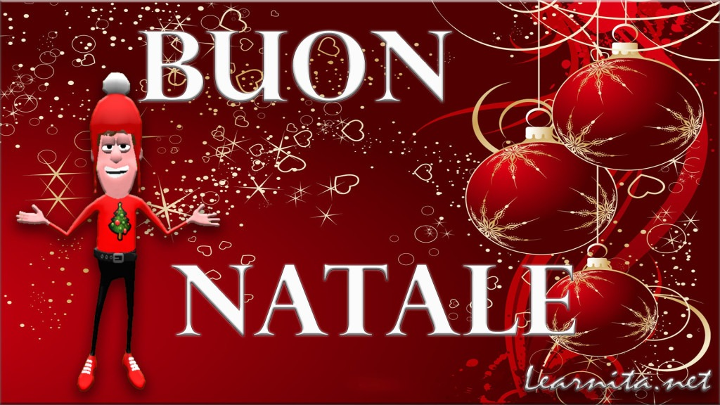 Merry Christmas In Italian.Merry Christmas In Italian Language