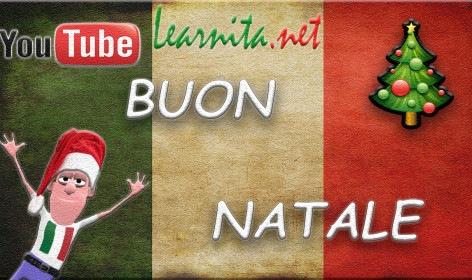Merry Christmas in italian language