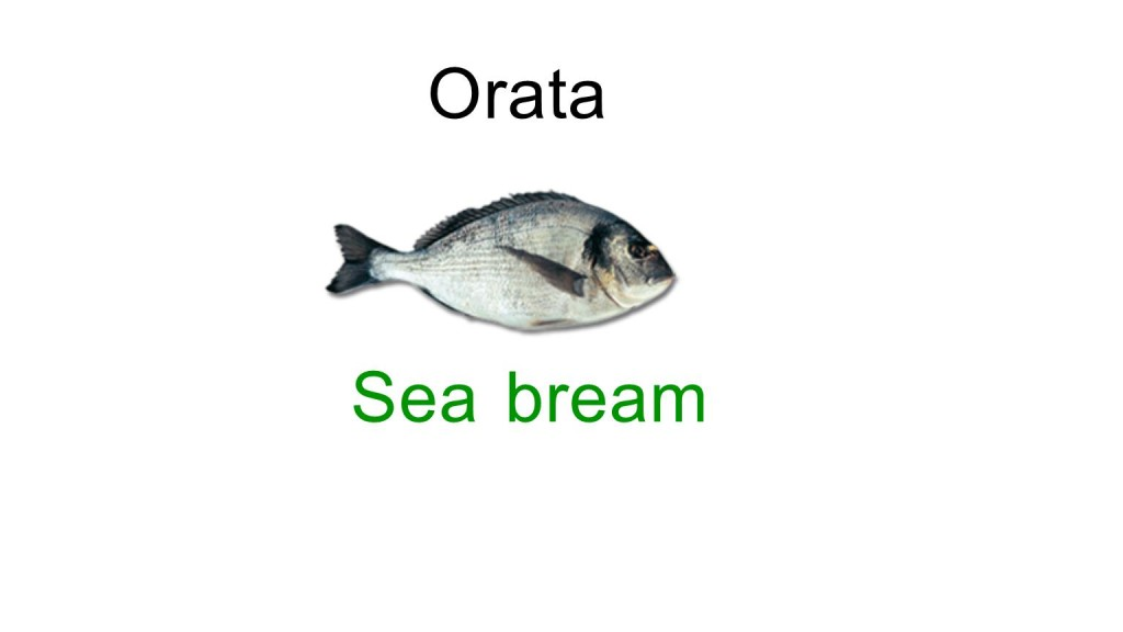 Bream in italian