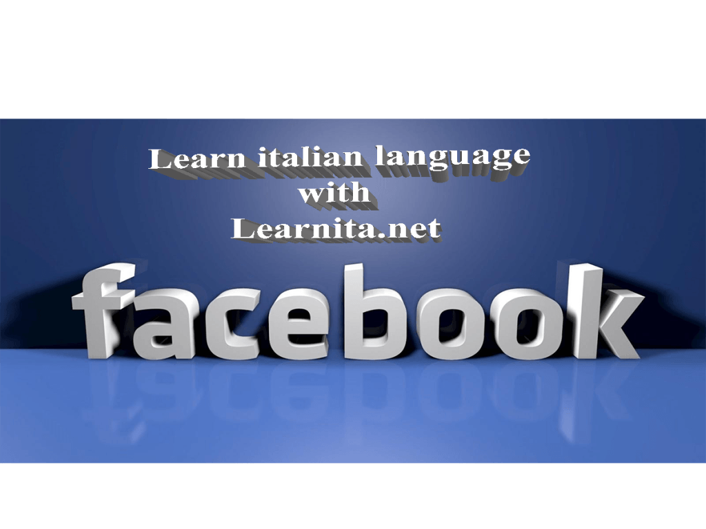 learn italian with learnita.net on Facebook
