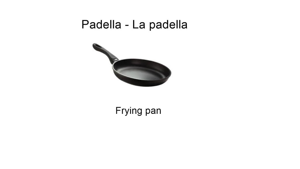 Padella - La padella - Frying pan