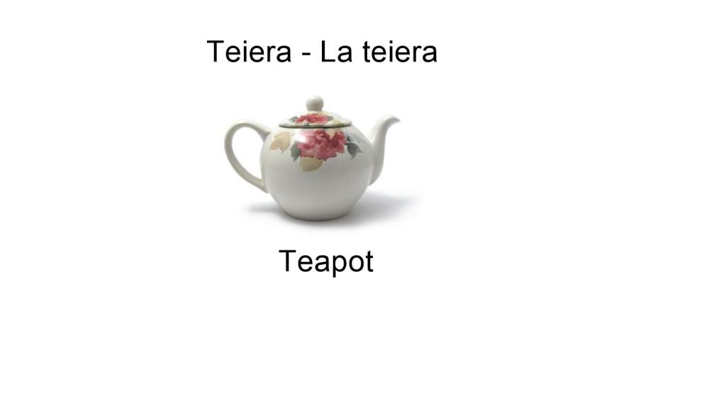 Teiera - La teiera - Teapot