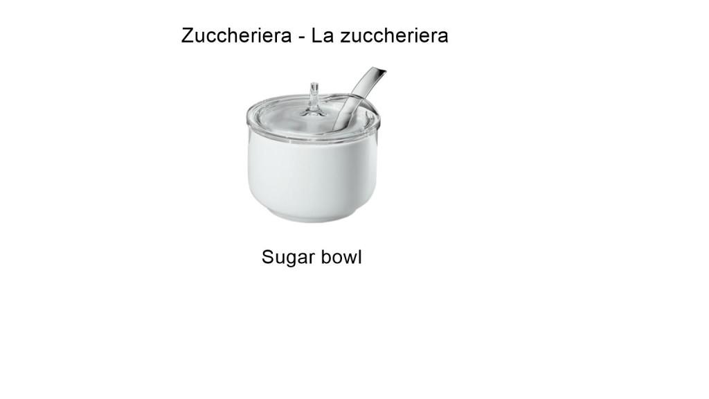 Zuccheriera - La zuccheriera - Sugar bowl