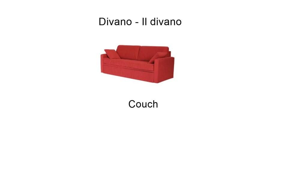 Divano - Couch
