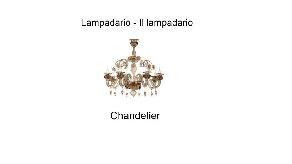 Chandelier in italian
