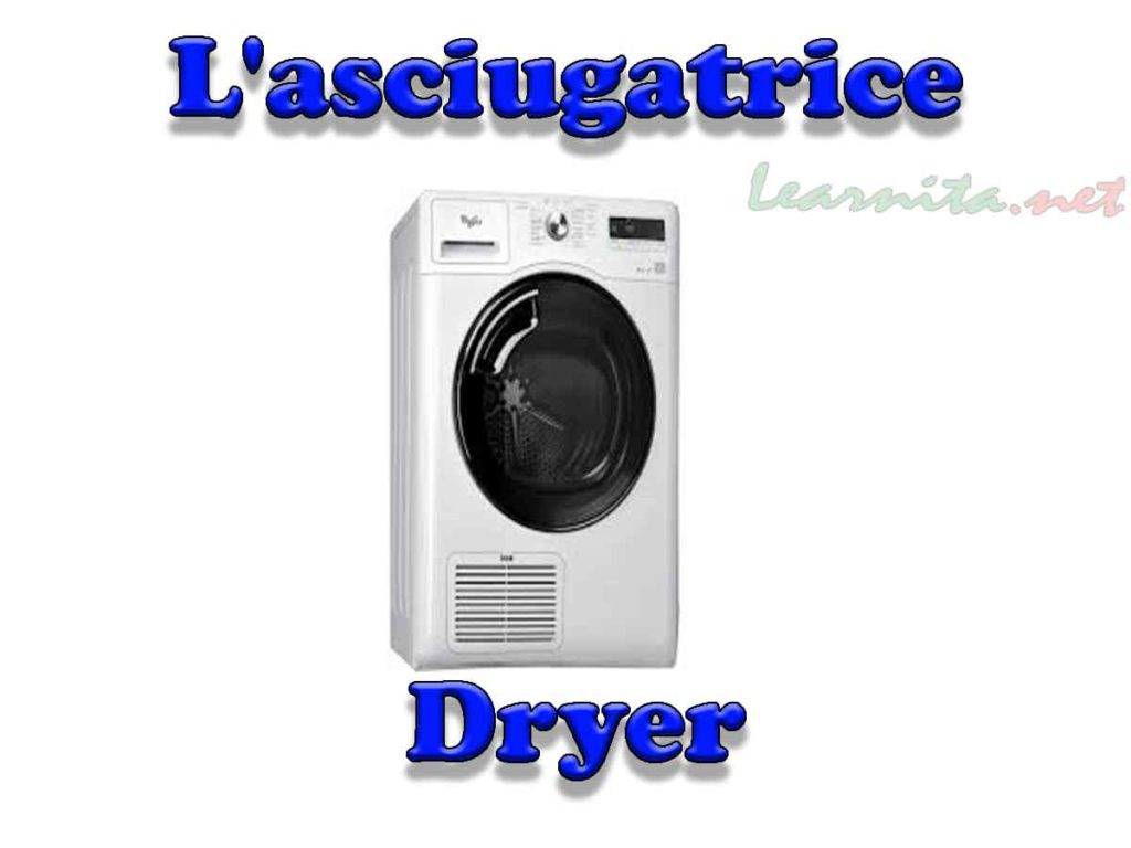 L'asciugatrice - Dryer