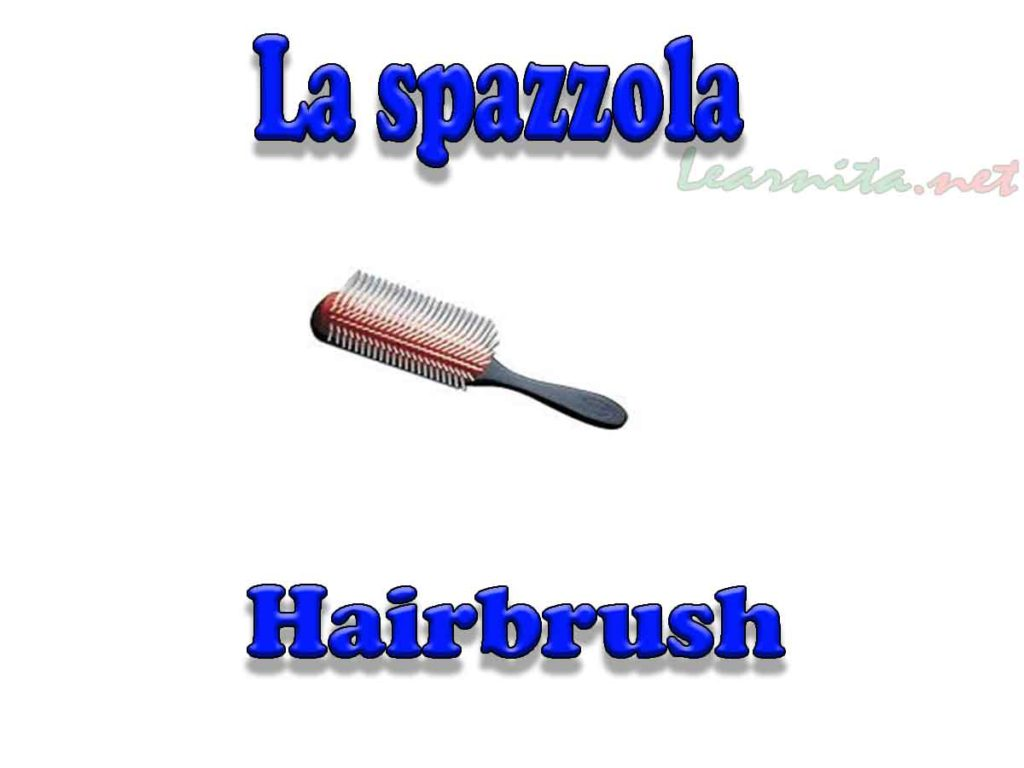 La spazzola - Hairbrush
