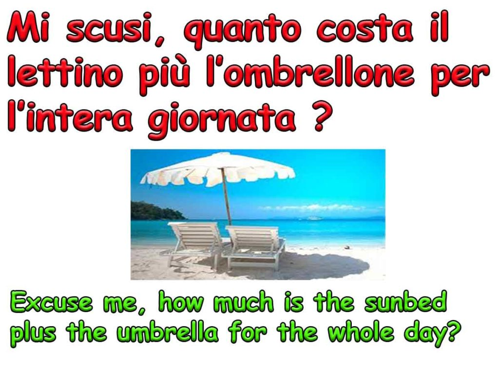 useful phrases in italian language