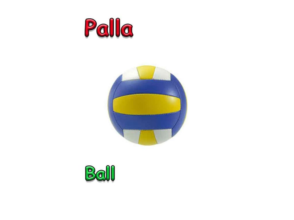 ball in italian