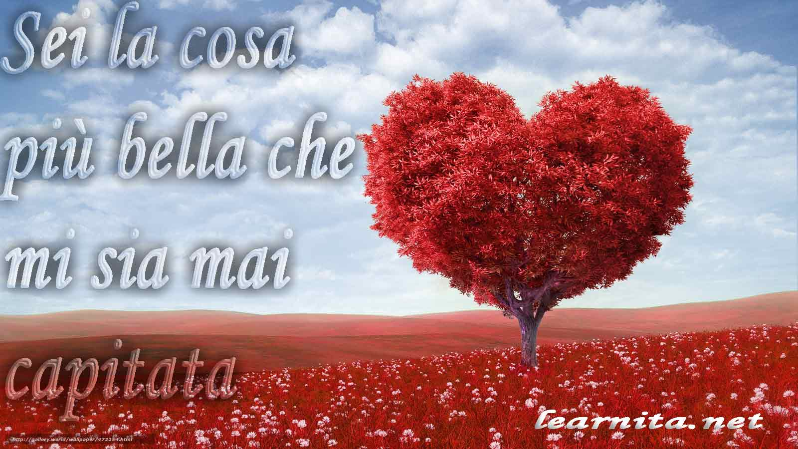Romantic phrases in italian