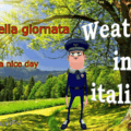 Weather in italian